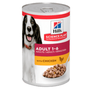 Hills Science Plan Adult Chicken 370g Dog Food Can 370g