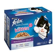 Felix Kitten As Good As It Looks Mixed Selection Multipack 12x100g