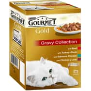 Gourmet Gold Cans Gravy Collection Multipack 12x85g