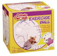 Living World Exercise Ball with Stand Small