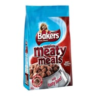 Bakers Complete Dog Meaty Meals Beef 1kg