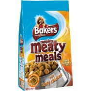 Bakers Complete Dog Meaty Meals Chicken 1kg