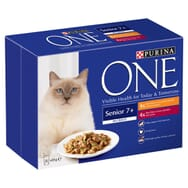 Purina ONE Senior 7+ Chicken and Beef Mini Fillets in Gravy 8x85g