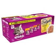 Whiskas Casserole Poultry in Jelly 40for36 40x85g