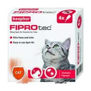 FIPROtec Spot-On for Cats 4 Pipettes