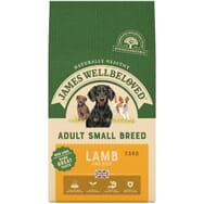 James Wellbeloved Adult Small Breed Lamb & Rice 7.5kg