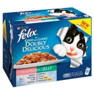 Felix As Good As It Looks Doubly Delicious Ocean Recipes 12x100g