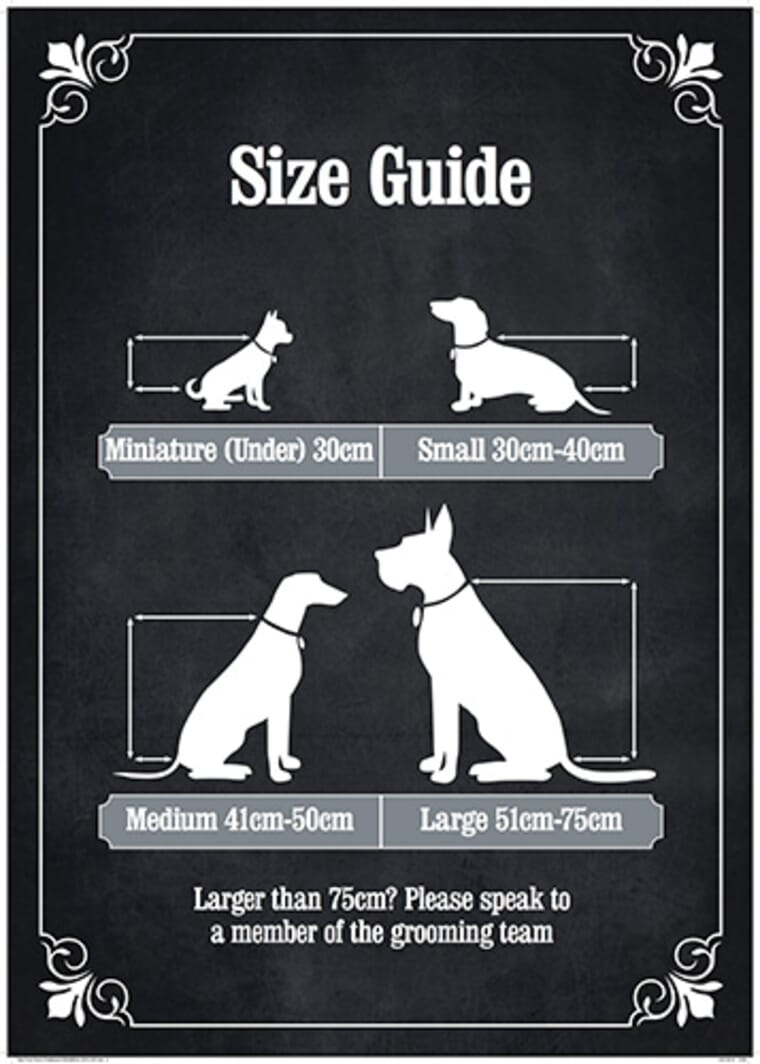 The Spa - Size Guide